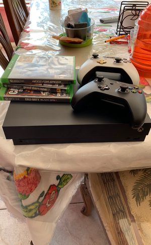 Xbox one 1tb 4K for Sale in Escondido, CA