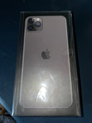 Boxed New iPhone 11 Pro Max (Offer Price) for Sale in Endicott, NY