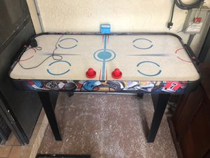 Mini air hockey table for Sale in Port St. Lucie, FL