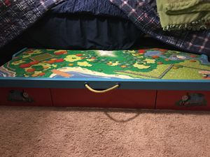 Thomas and friends under bed railway play table/trundle. for Sale in Irwindale, CA