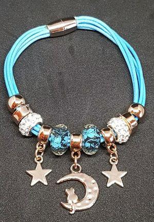 Moon and Stars Blue Bracelet for Sale in Centreville, VA
