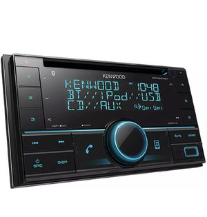 Kenwood Double-DIN In-Dash CD/MP3/USB Bluetooth AM/FM Car Stereo Receiver High Resolution Audio Compatibility Pandora/iHeart Radio/Spotify/iPhone for Sale in Los Angeles, CA