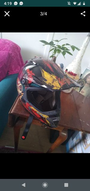 Large Slayer downhill mountain bike or dirt bike helmet for Sale in Redondo Beach, CA