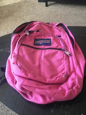 Jansport pink backpack for Sale in Marysville, WA