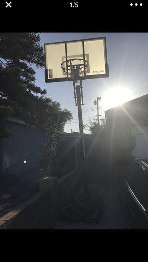 Spalding Basketball Hoop for Sale in Cypress, CA