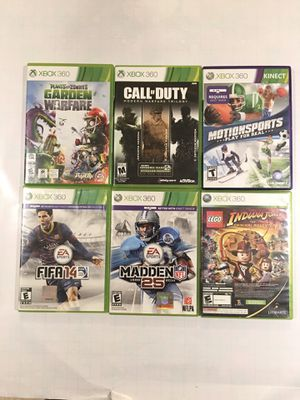 Xbox 360 Game Collection (16 Games) for Sale in Moreno Valley, CA