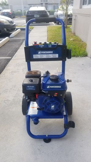 Powerhorse Gas Cold Water Pressure Washer — 3100 PSI, 2.5 GPM, EPA and CARB Compliant for Sale in Miami Gardens, FL