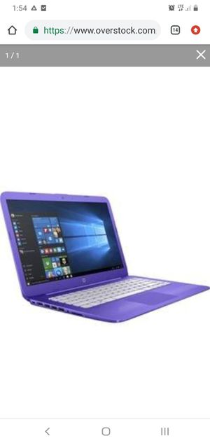 "Hp stream, 14"" notebook, 4 GB RAM- 32GB flash memory- Purple for Sale in Miami, FL"
