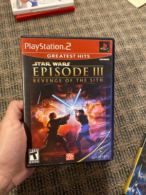 Episode III Revenge Of The Sith PlayStation 2 for Sale in Columbia, MO