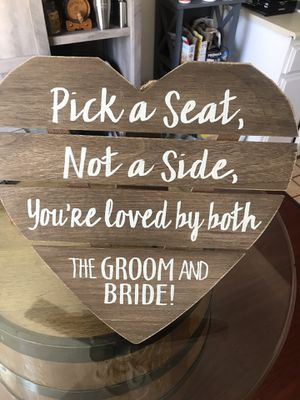 Wedding sign for Sale in Fullerton, CA
