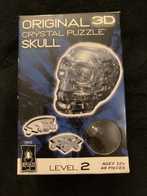 3D Crystal Skull Puzzle for Sale in Colorado Springs, CO