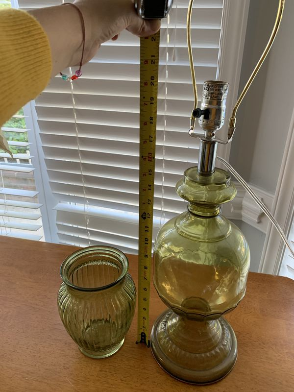 Lamp & Vase set