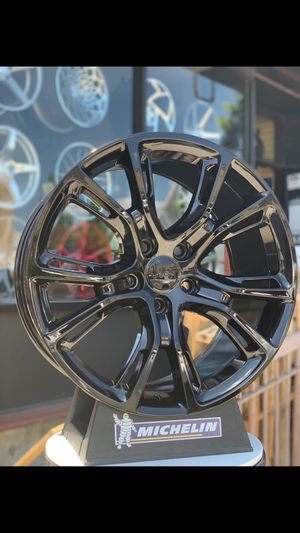 "Brand new Grand Cherokee SRT8 20"" style gloss black wheels JEEP for Sale in Brooklyn, NY"
