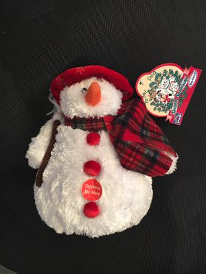 Snowman Dog Toy for Sale in CT, US