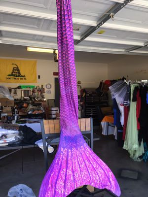 Hand made mermaid dress with tail for Sale in Laveen Village, AZ