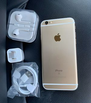 iPhone 6S, 32GB - just like new, factory unlocked, clean IMEI, clear iCloud for Sale in Springfield, VA