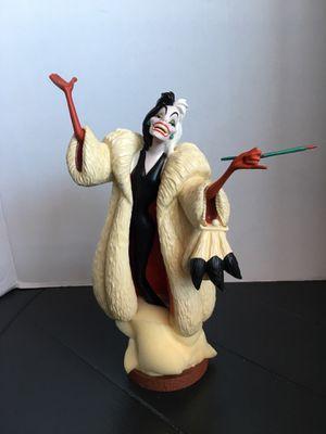 """Walt Disney Collectors Society 1995 Animator's Cruella De Vil """"Anita, daahling!"""" for Sale in Los Angeles, CA"""