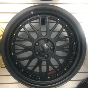 """BLACK FRIDAY SPECIALS 19"""" Staggered Wheels Rims Tires 5x114 Fit Honda Acura Nissan Infiniti Lexus Toyota Accord Civic Jdm Stance Package Deals for Sale in Queens, NY"""