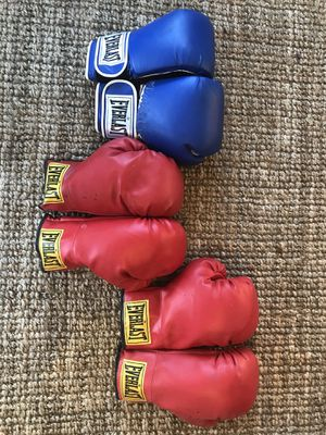 Boxing Gloves - 3 pairs for Sale in Concord, MA