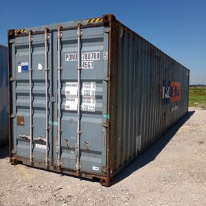 Gray 40' High Cube Storage Container For Sale! for Sale in Katy, TX