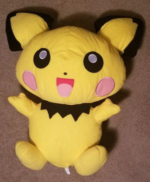 NEW!! Pokemon Pikachu and Hello Kitty 2ft tall plush stuffed animals - 3 items total for Sale in Sanford, FL