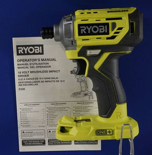 RYOBI P239 18V Brushless Impact Driver (Tool Only) - New for Sale in Portland, OR