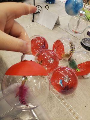 Fishing lure ornaments for Sale in Virginia Beach, VA