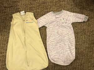 SleepSack/Carter's Sack Pajamas for Sale in Clarksburg, MD