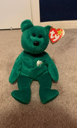 Ultra Rare Erin the Bear 1997 Beanie Baby for Sale in Tomball, TX