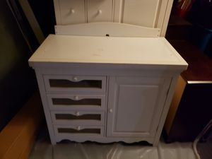 changing table and armoire in good condition. for Sale in St. Petersburg, FL