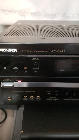 Pioneer VSX-D906S for Sale in West Hollywood, CA