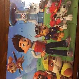 Paw patrol puzzle for Sale in Hudson, IL