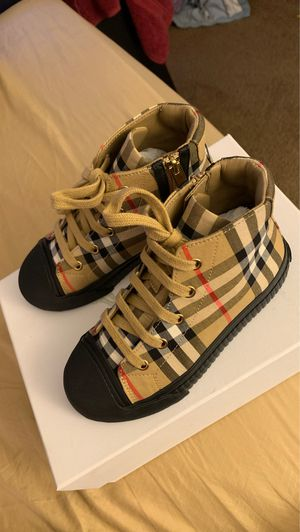 Burberry shoes size 12.5 US 30 Euro for Sale in Los Angeles, CA