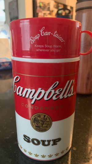 Campbell's soup container for Sale in San Jose, CA