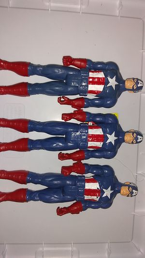 Marvel Captain America Toy Bundle $12 For All. for Sale in Costa Mesa, CA