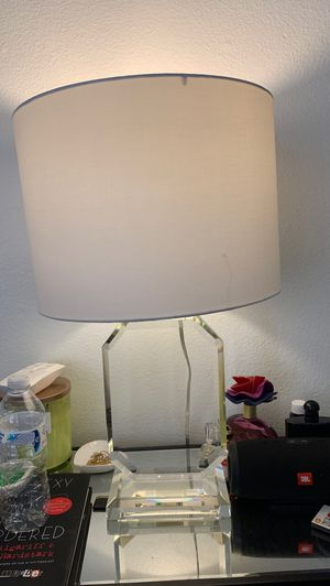 Crystal Lamp w/ Shade for Sale in Newport Beach, CA
