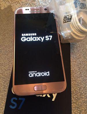 Samsung Galaxy S7 32GB,,,,,,UNLOCKED + WARRANTY ( Brand New ) for Sale in Silver Spring, MD