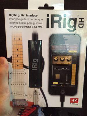 iRig HD for Sale in Alexandria, VA