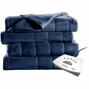 Sunbeam Electric Heated Fleece Blanket Queen (Blue) for Sale in Los Angeles, CA