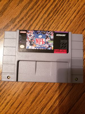 Super Nintendo Nfl for Sale in Mt. Juliet, TN