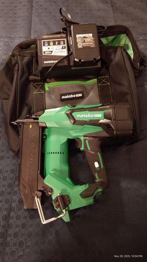 Metabo HPT 18volt Cordless Finish Nailer for Sale in Tampa, FL