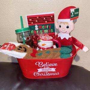 Elf Holiday Baskets 💚🎅🏻♥️🎅🏻🤶🏼🎅🏻💚♥️💚 for Sale in La Puente, CA