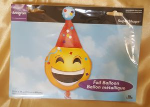 Emoji Party Balloon for Sale in Patterson, CA