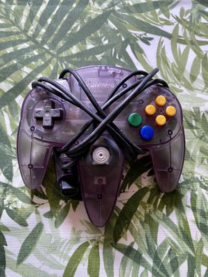 Authentic Nintendo 64 Controller - Atomic Purple for Sale in Warwick, RI