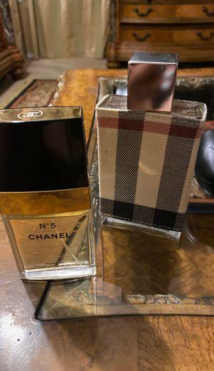 Perfume Chanel y Burberry for Sale in Dallas, TX