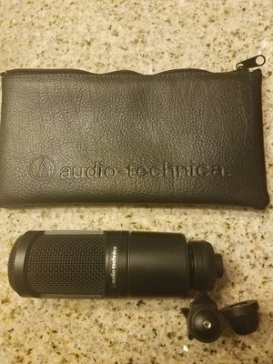 Audio Technica at2020 Microphone for Sale in Williamston, NC