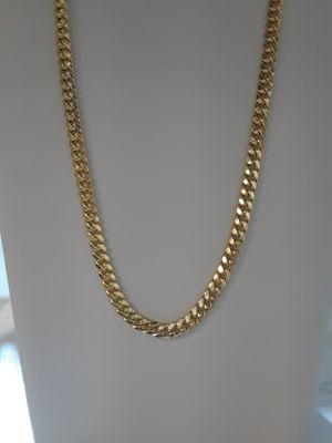 """Cadenas de oro 14k 24"""" oro italiano we finance for Sale in Pomona, CA"""