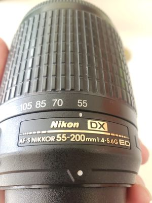 Nikon 55-200 lense for Sale in Rancho Cordova, CA