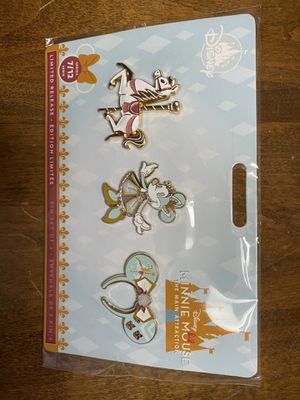 Disney Minnie Mouse Main Attraction pins JULY for Sale in Fresno, CA