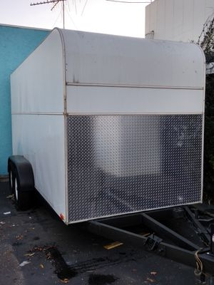 Heavy duty utility trailer , new tires and axles.electric brakes for Sale in Redondo Beach, CA